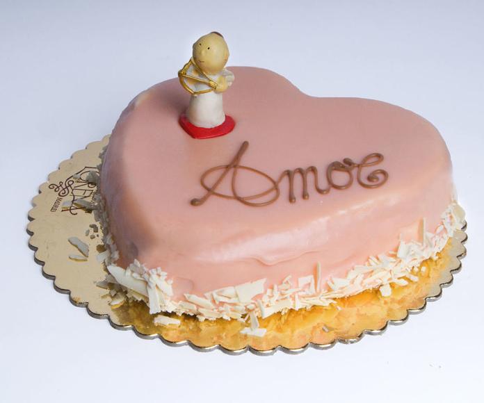 tartas especiales: cumpleaños, bautizos, comunion, boda...