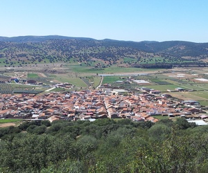 Vista de Guadalmez en Ciudad Real