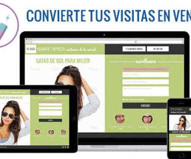 Páginas de conversión: convierte tus visitas en ventas