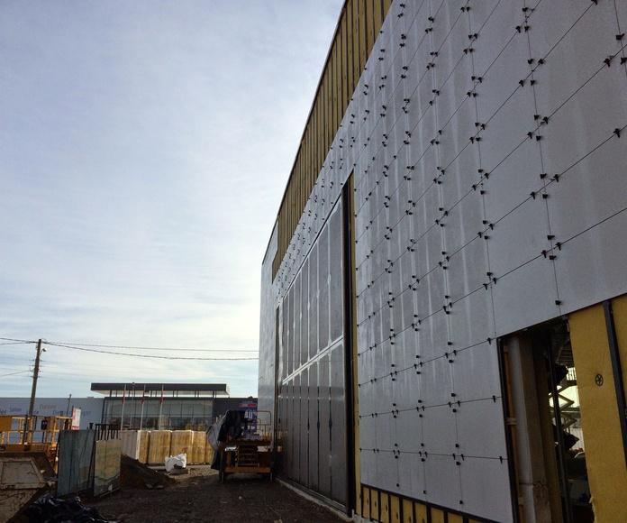 Fachadas ventiladas fenólicas: Servicios de Crea Hogar