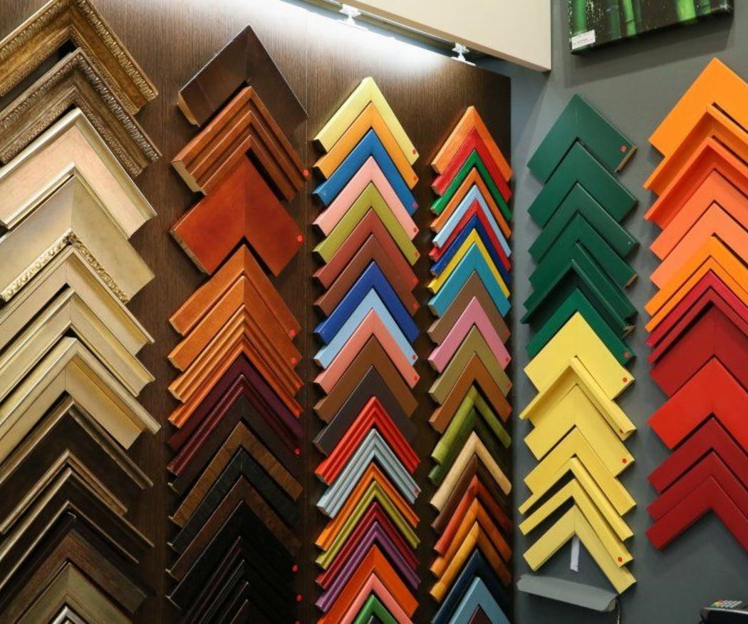Tipos de molduras para marcos