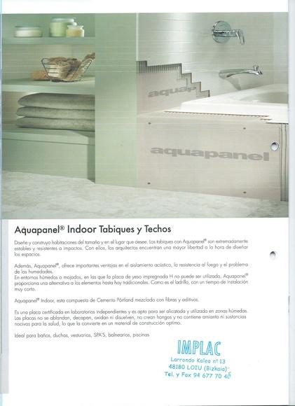 Aquapanel Indoor:  de Implac