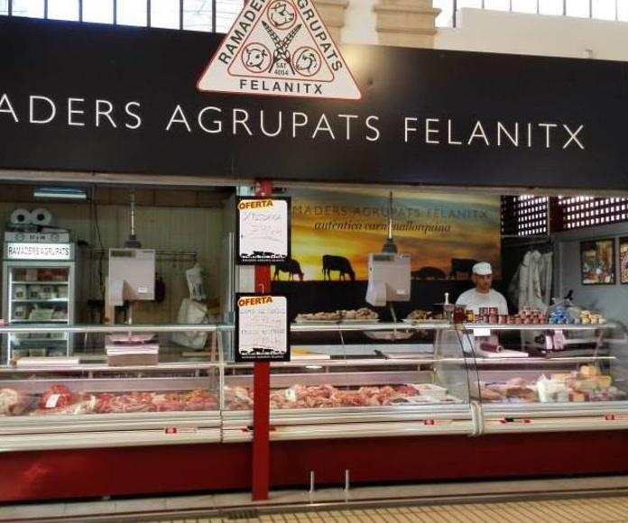Carnicería en el Mercado Municipal de Felanitx