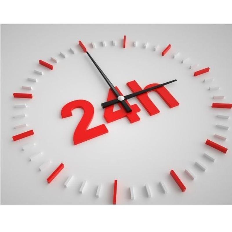 Servicio 24 horas: Servicios de Desatascos Vicsal