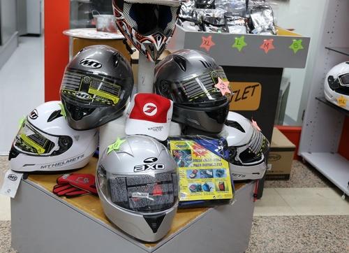 Venta de accesorios para motos