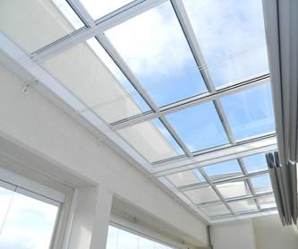 Escaleras de vidrio: Productos y servicios de Aluminios Curvalac SL