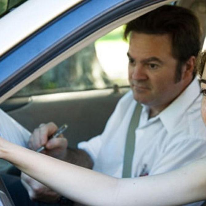 La prueba de aparcar en el examen de conducir