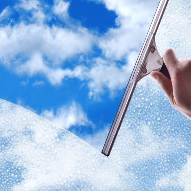 Diferentes procedimientos para limpiar los cristales