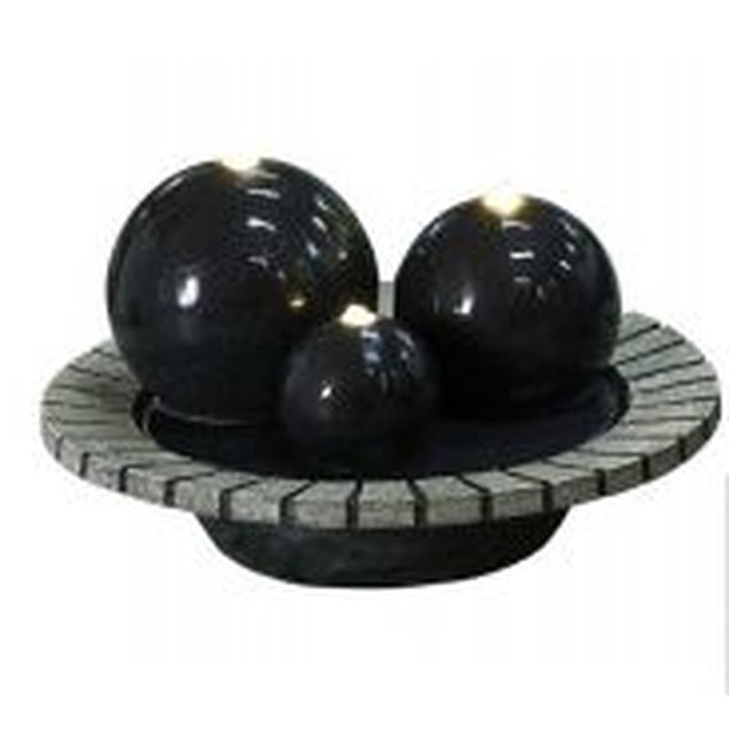Fuente tres esferas Valencia