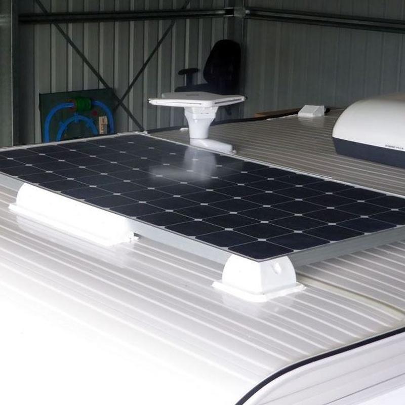 Z992 Kit solar fotovoltaico carabana 2: ESTUFAS DE PELLETS GRANADA de ahorralia