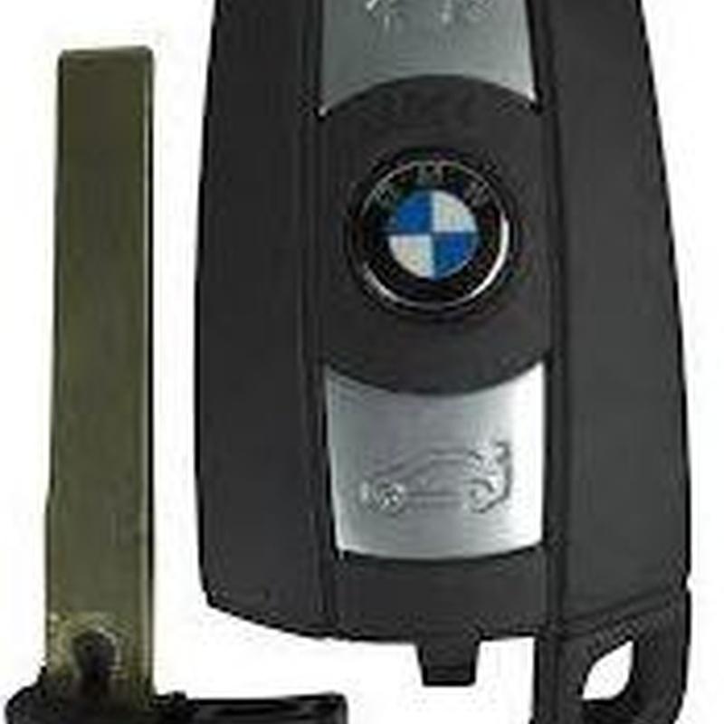Llave BMW, inserción sin mando: Productos de Zapatería Ideal