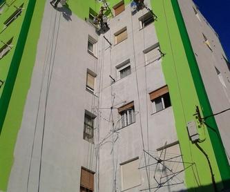 Formación de junta de dilatación en patio de luces Torrelavega ( Cantabria): Trabajos verticales Santander  de Trabajos Verticales Cantabria