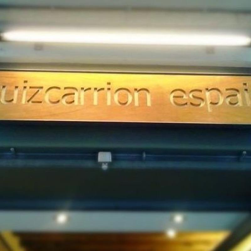 Coordinación y dirección de obra: Proyectos de Ruiz Carrion Espais