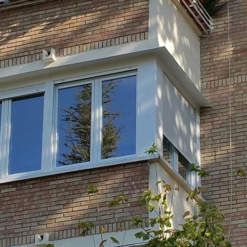 Cerramiento de terraza en PVC.