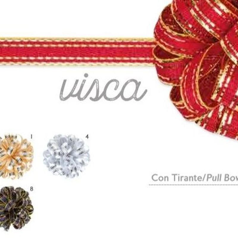 """CINTA """"visca"""" (15MM X 50MT) COL 07 (ROJO FILO ORO) REF: 329-07 PRECIO: 10,50€"""