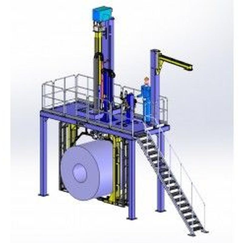 Instalaciones de flejado automático. Vertical: Productos de Sistemas de Embalaje Miguel D, S.L.