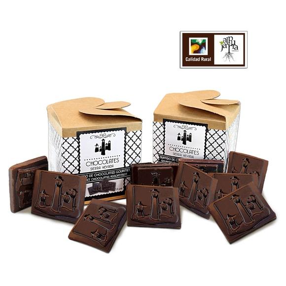 Surtido de chocolates negros gourmet: Nuestros productos de Chocolates Sierra Nevada