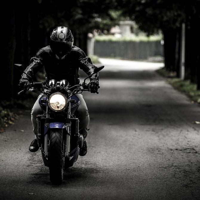 Montar en moto es bueno para la salud