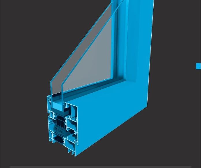 Ventana Aluminios Barcelona Alba 75 RPT: Productos de Catal Pur