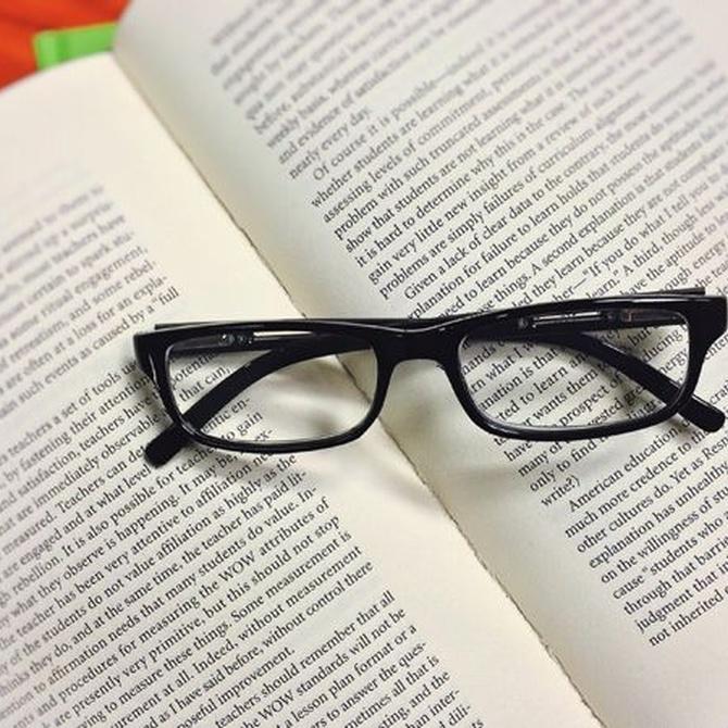 Con unas gafas de pasta acertarás seguro