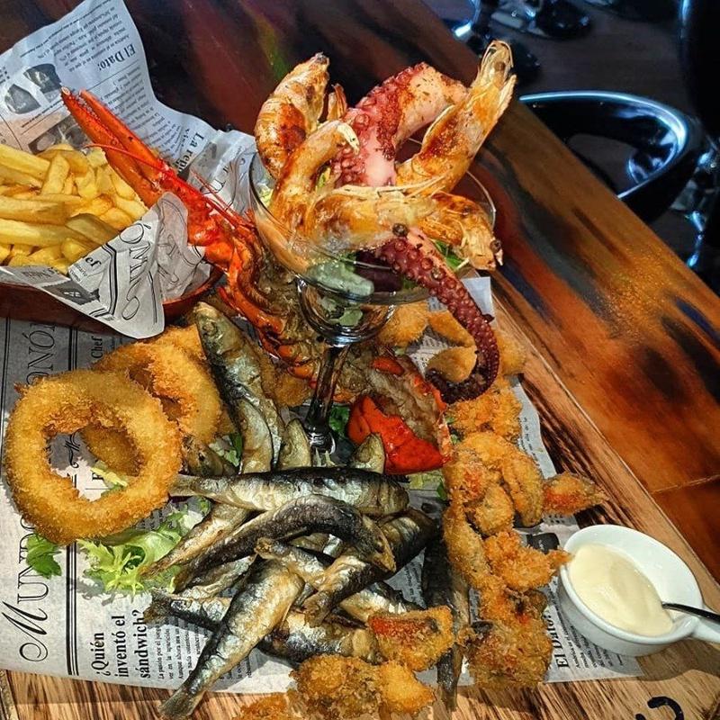Menú en español: Eventos y menús de Calypso Cocktail & Grill