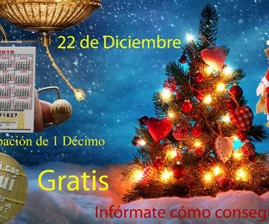 Decimo Lotería Navidad. Clínica Veterinaria Jeremías Alicante