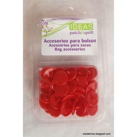 Pack snaps rojo: Productos de Mar de Hilos
