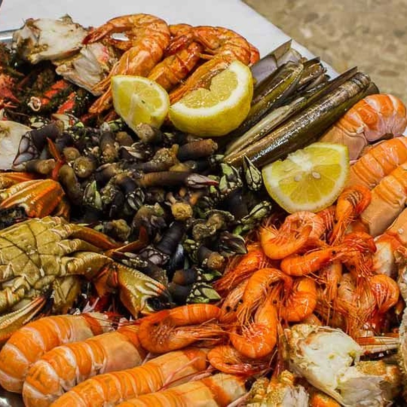 Comida y marisco para llevar: Carta de Restaurante Avenida