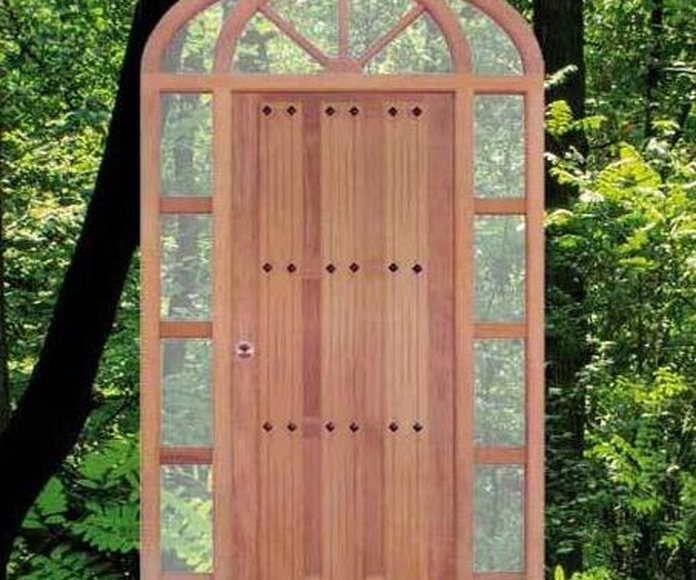 Puertas de Exterior: Catálogo de Maderas Perafort
