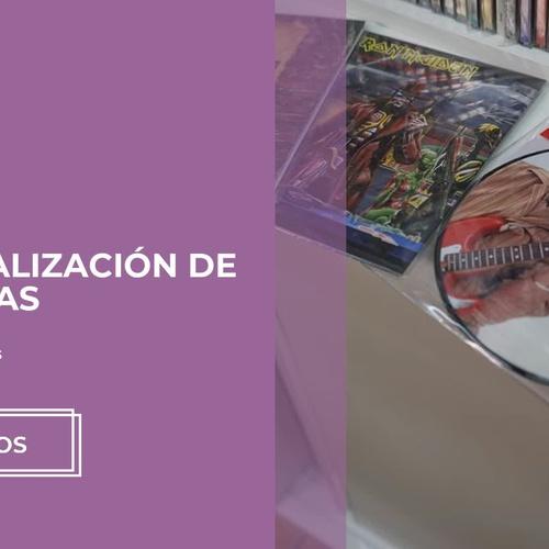 Venta de discos en Murcia | Discos Comix