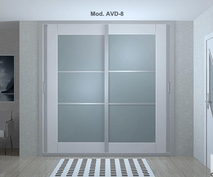 Frente de armario corredera mod. AVD-8