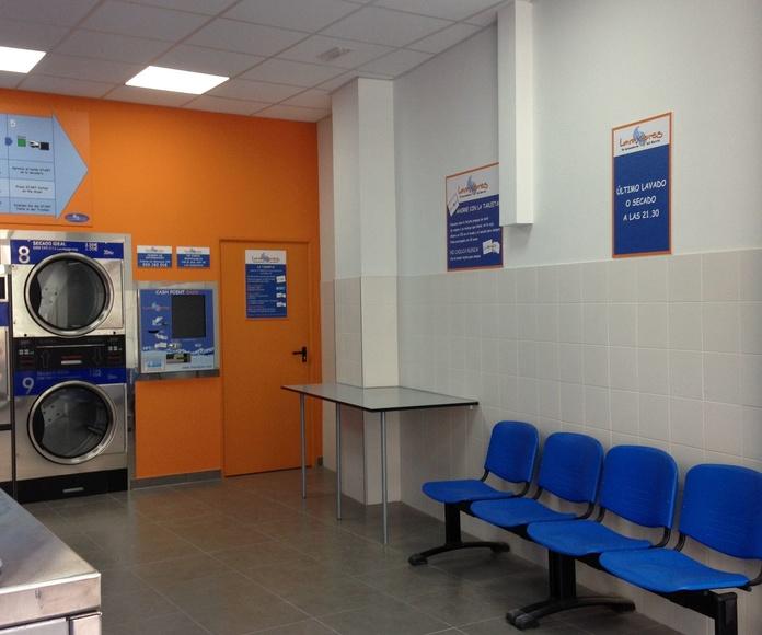 Instalación de lavandería industrial