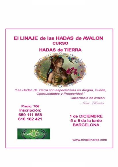 Curso: El Linaje de las Hadas de Avalon. Segundo módulo sábado 01/12 a las 17h