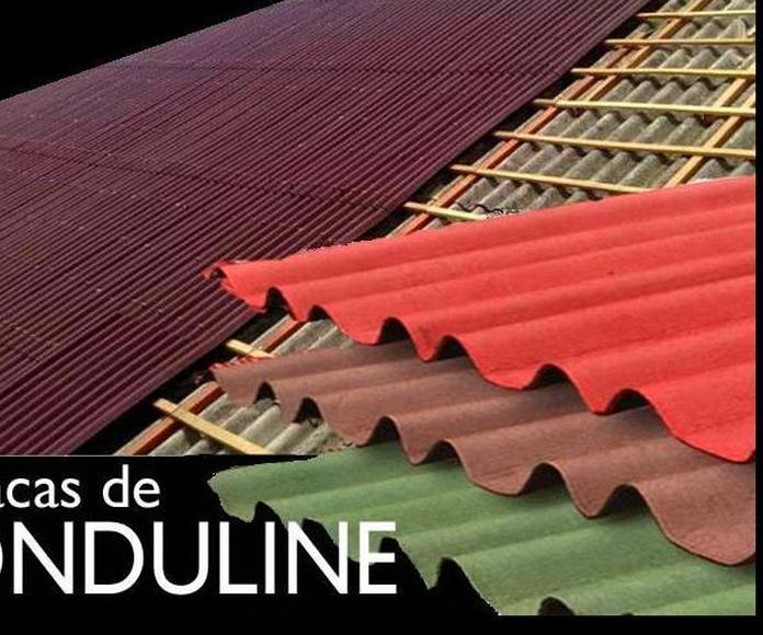 Reparacion de tejado con teja mixta con sistema ONDULINE