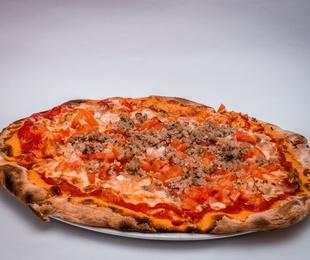 OFERTA. PIZZA MEDIANA HASTA 2 INGREDIENTES. 8€