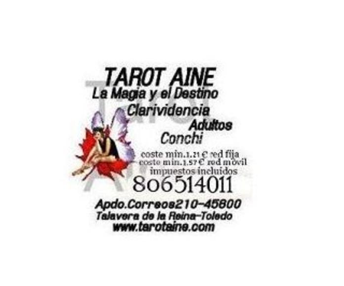 Consultas por telefono con pago con tarjeta: Servicios y productos on line de Tarot Aine
