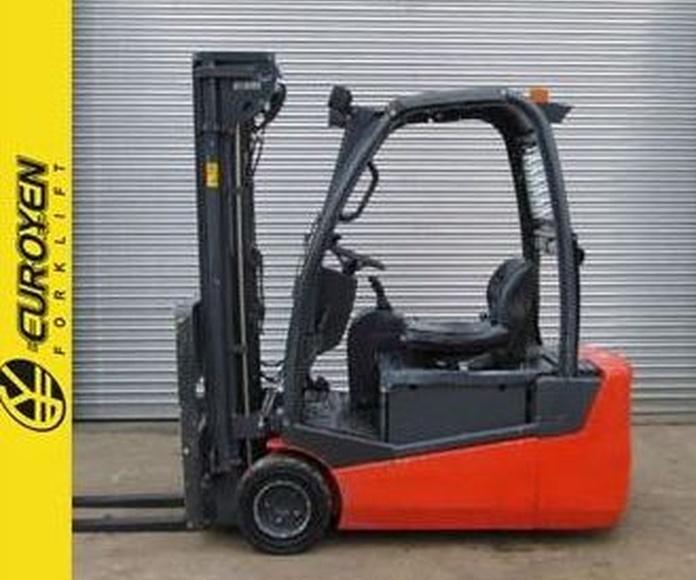 Carretilla eléctrica TECNA Nº 6139: Productos y servicios de Comercial Euroyen, S. L.