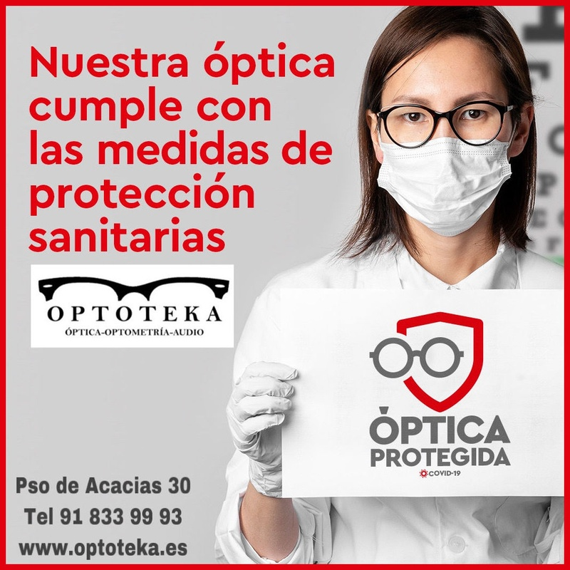 Optoteka y las medidas anti-covid19: Servicios de Optoteka Óptica y Audio