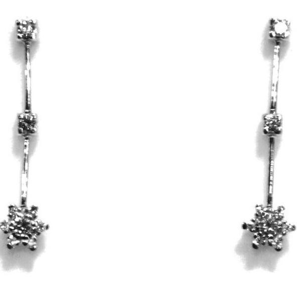 Pendientes Diamantes Colgantes