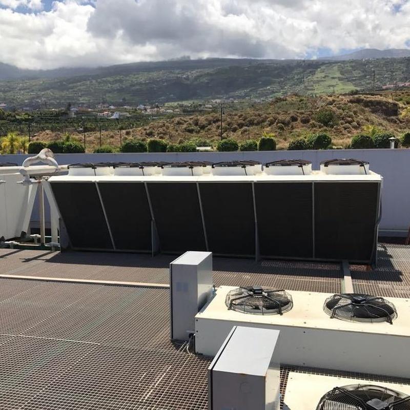 Aeroenfriadores de condensación en Tenerife