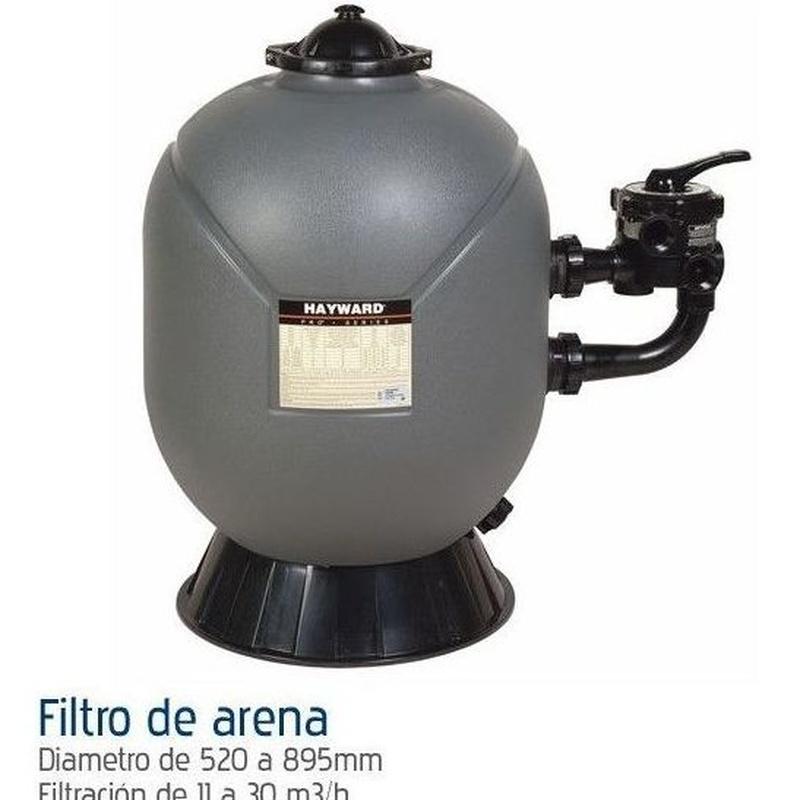 Filtración de arena: Productos y servicios de Piscinas Castilla - Construcción y Rehabilitación