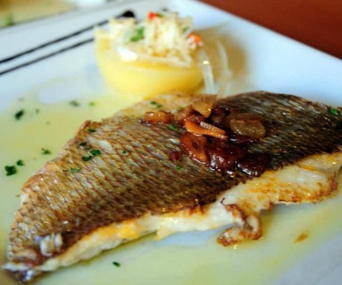 Pescados: Carta de Bernardo Restaurante - Entrevinosytapas