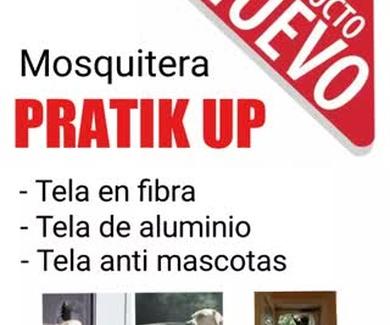Nuevo modelo de mosquitera Pratik Up