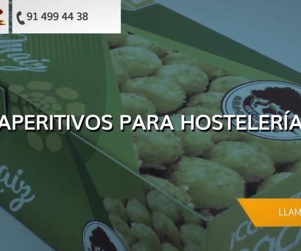 Aperitivos para hostelería Sarriá Sant Gervasi Barcelona | Antojos Araguaney