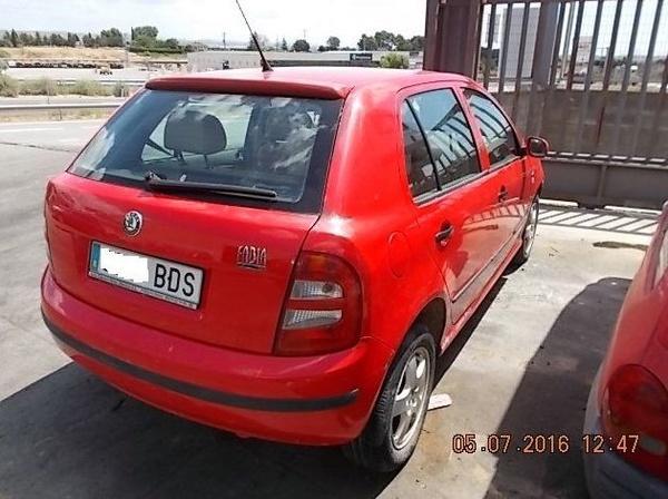 SKODA FABIA 1.9 TDI AÑO 2000: Catálogo de Desguace Valorización del Automóvil BCL, S.L.