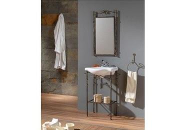 Muebles de forja: muebles de baño en forja