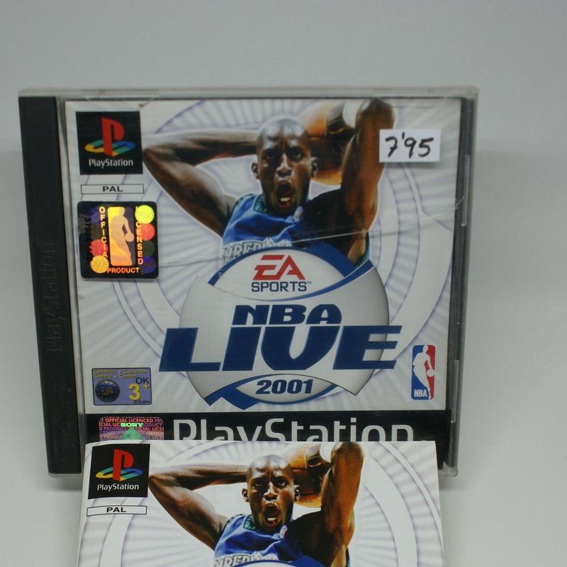 PLAYSTATION NBA LIVE 2001: Compra y Venta de Ocasiones La Moneta