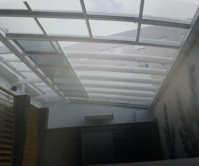 TECHOS MOVILES O CORRERIZOS: Servicios de Exposición, Carpintería de aluminio- toldos-cerrajeria - reformas del hogar.