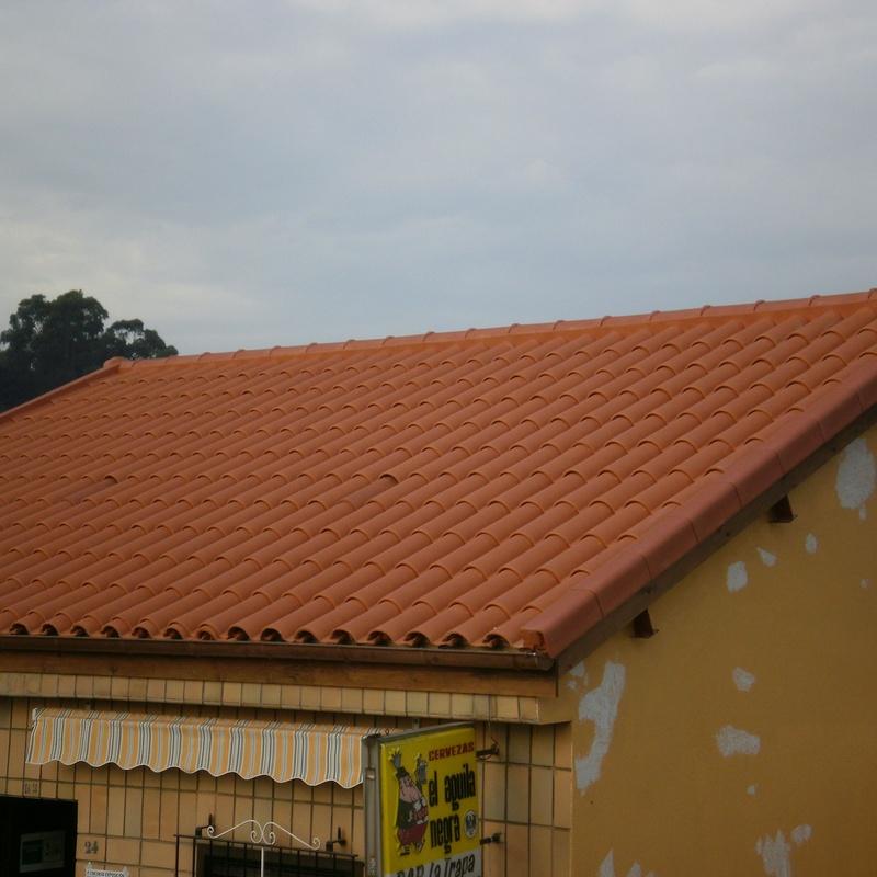 Cubiertas y tejados: Servicios de Consma Construcciones