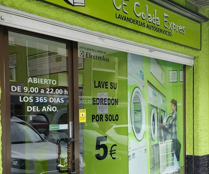 """""""Somos la pareja que más lavanderías de autoservicio tiene en España"""""""